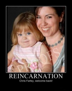 Chris Farley Reincarnated