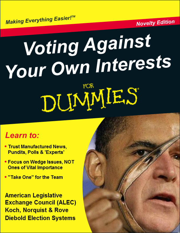 Voting Against Your Own Interests For Dummies