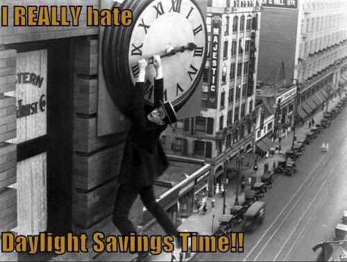 Daylight Savings Sucks!