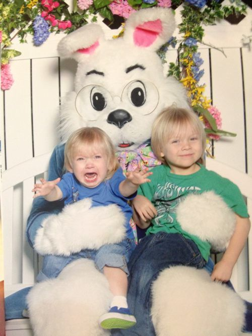 Easter bunny horrors.