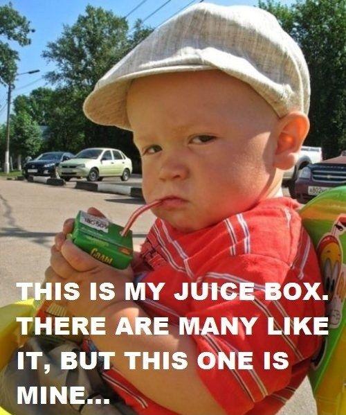 Juice Box Attitude ...