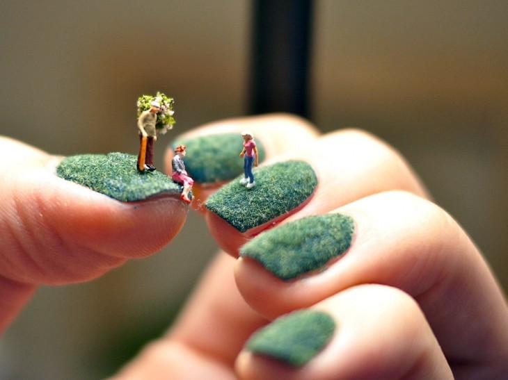 Life on a Fingernail