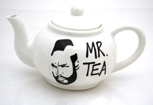 Mr. T Mr. Tea Tea Pot