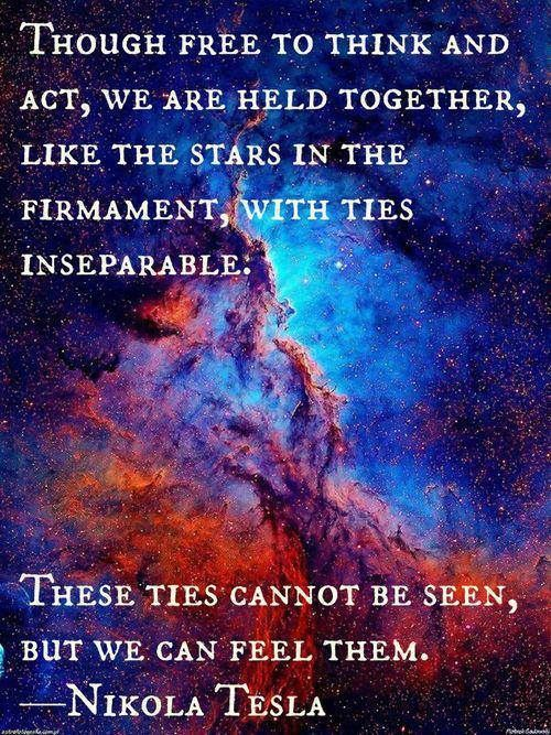 Ties inseparable ...