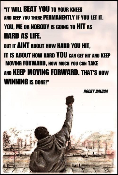 The wisdom of Rocky Balboa on life ...