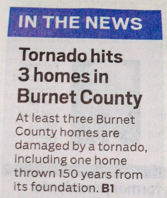 The mother of all tornadoes, the tornadic time machine!