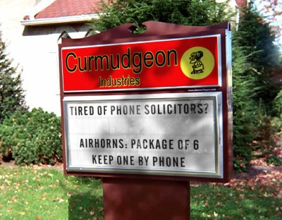 Curmudgeon Industries: Air Horns