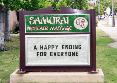 Samurai Prostate Massage
