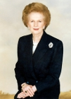 Margaret Thatcher, Prime Minister of Great Britain, 1979-1990