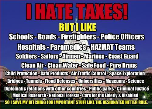 I Hate Taxes